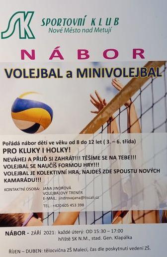 Volejbal a minivolejbal